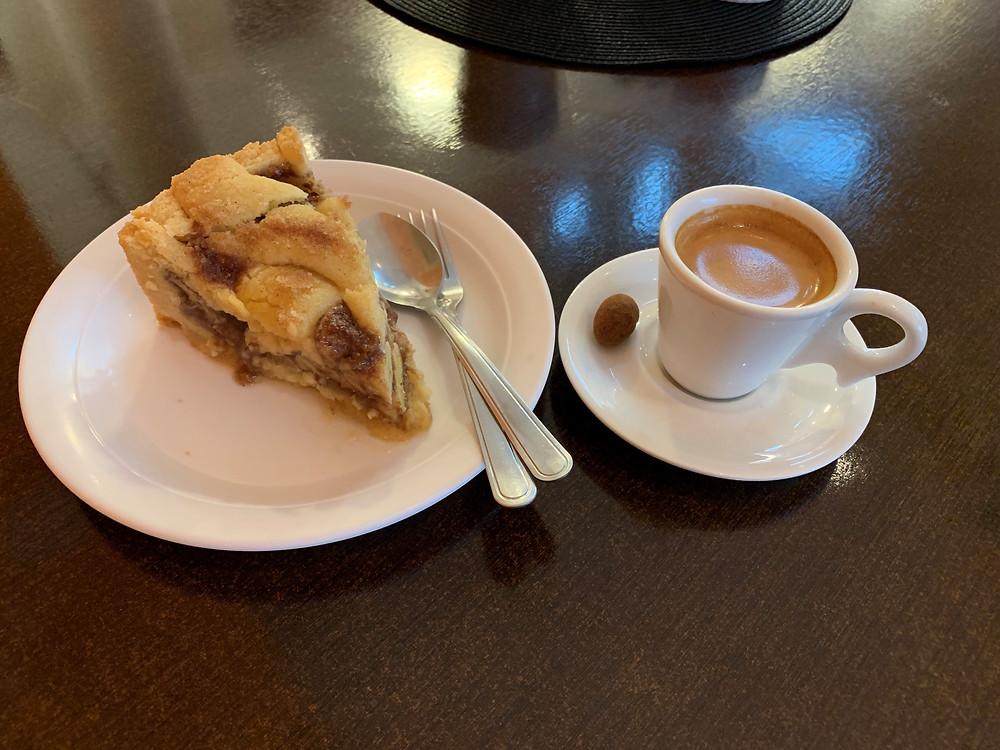 Torta de banana - Campos do Jordão-SP