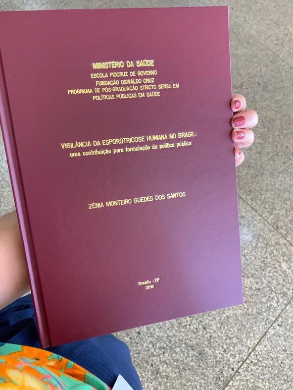 Defesa da dissertação do mestrado: EU VENCI!