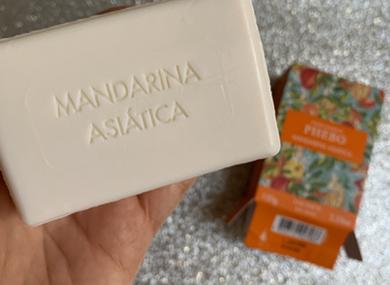 Sabonete em barra Mandarina Asiática Phebo Perfumaria