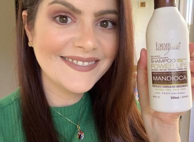 Shampoo de Mandioca Forever Liss Professional