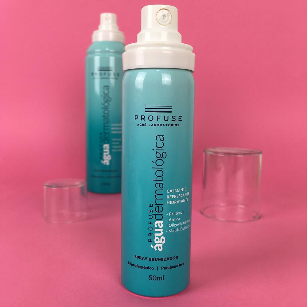 Resenha PROFUSE Água Dermatológica Spray Brumizador