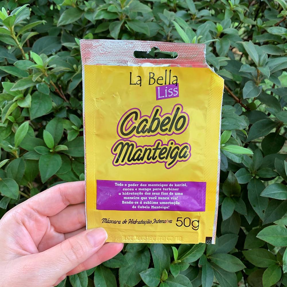 HIDRATAÇÃO INTENSIVA CABELO MANTEIGA LA BELLA LISS