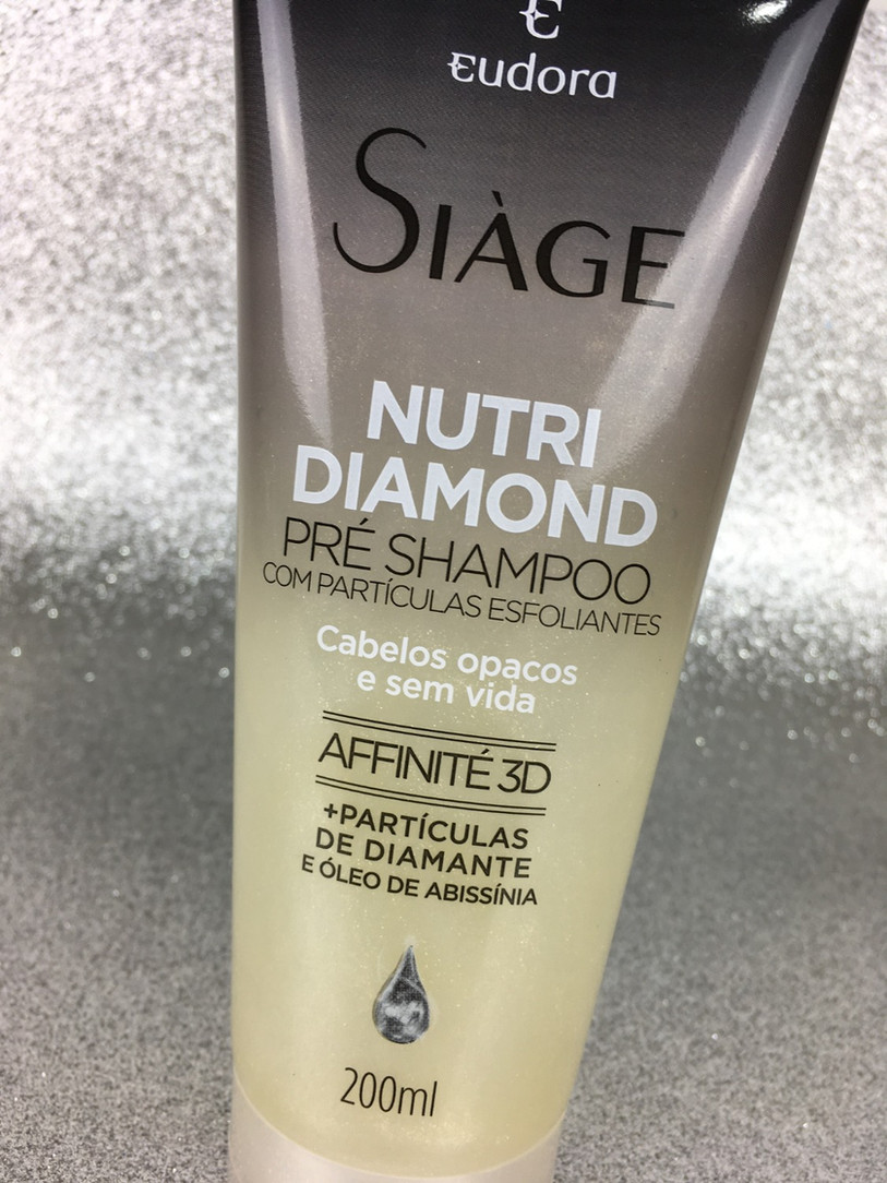 Nutri Diamond Pré-Shampoo Siàge Eudora | Testei