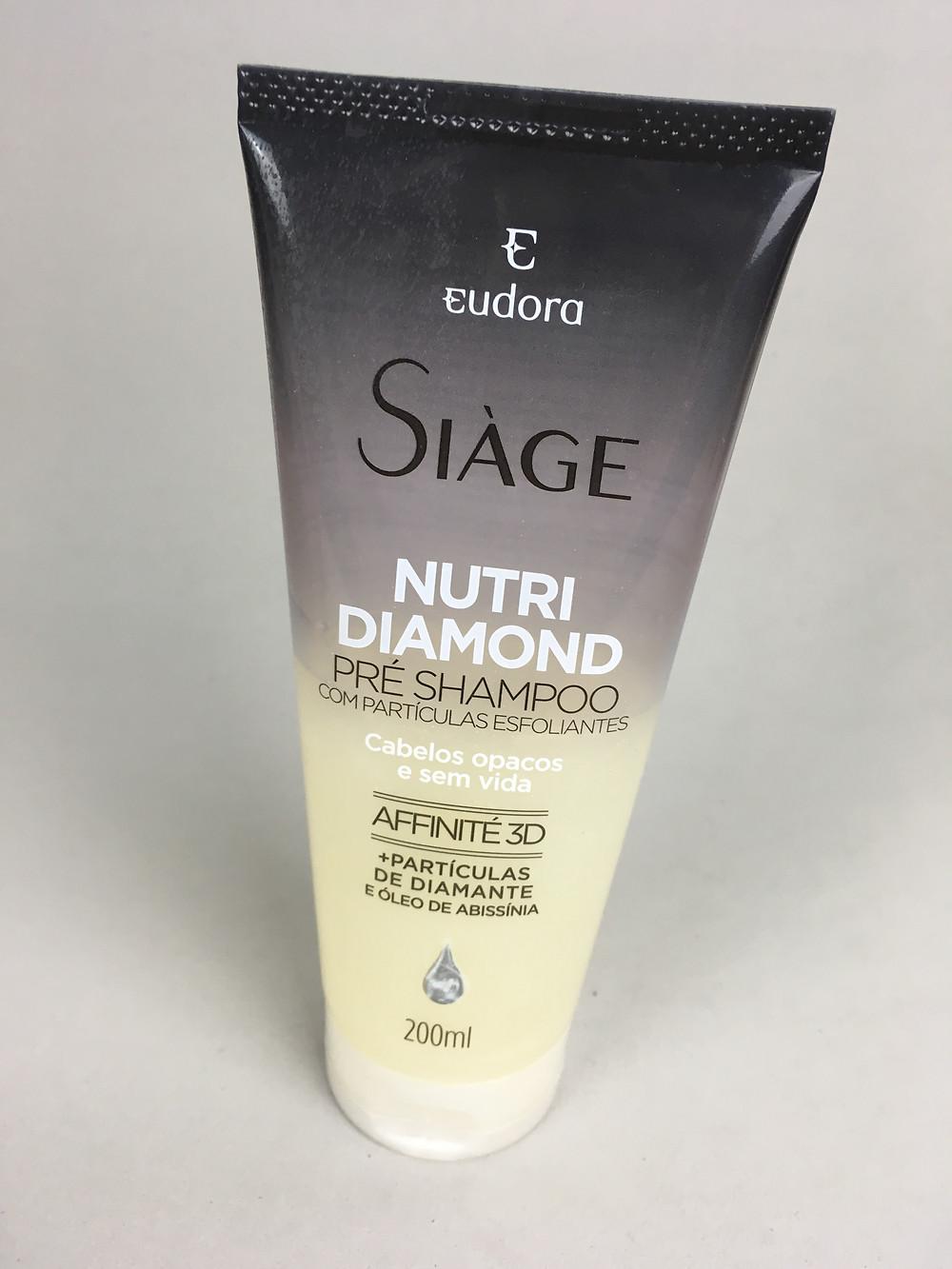 Nutri Diamond Pré-Shampoo Siàge Eudora