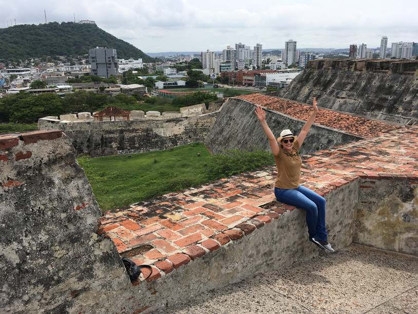 Conheci o Castelo San Felipe de Barajas