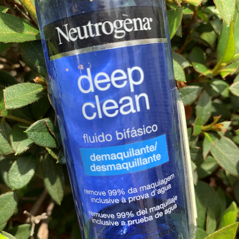Demaquilante Neutrogena Deep Clean | Acabou