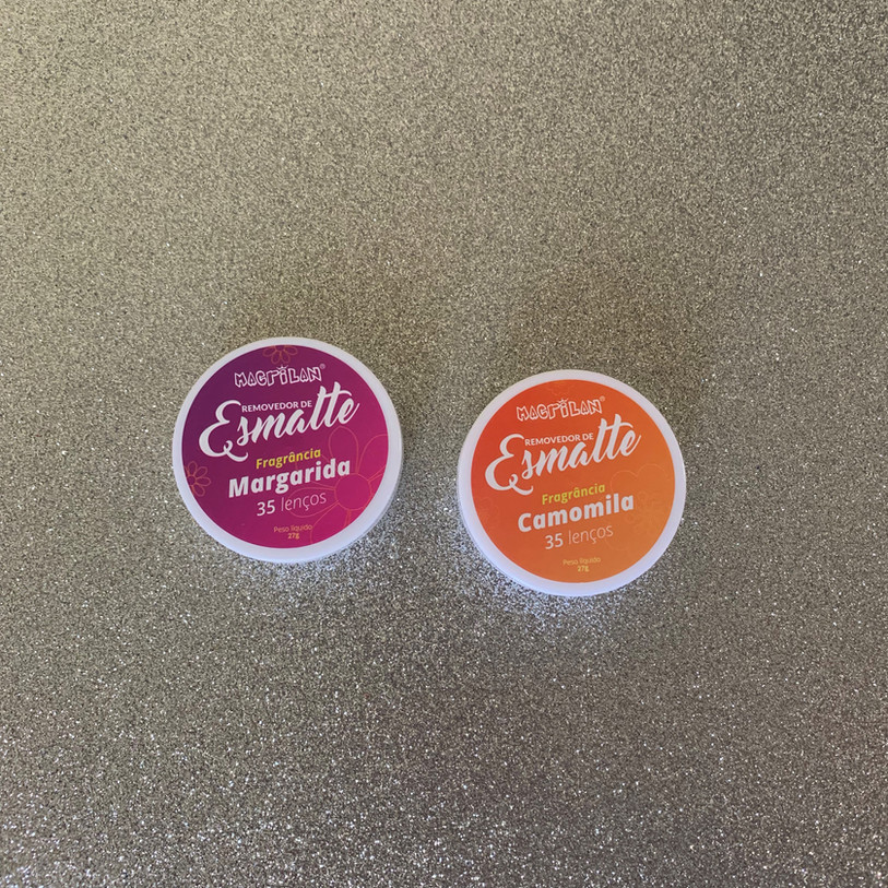 Lenços removedores de esmalte sem acetona Macrilan | Testei