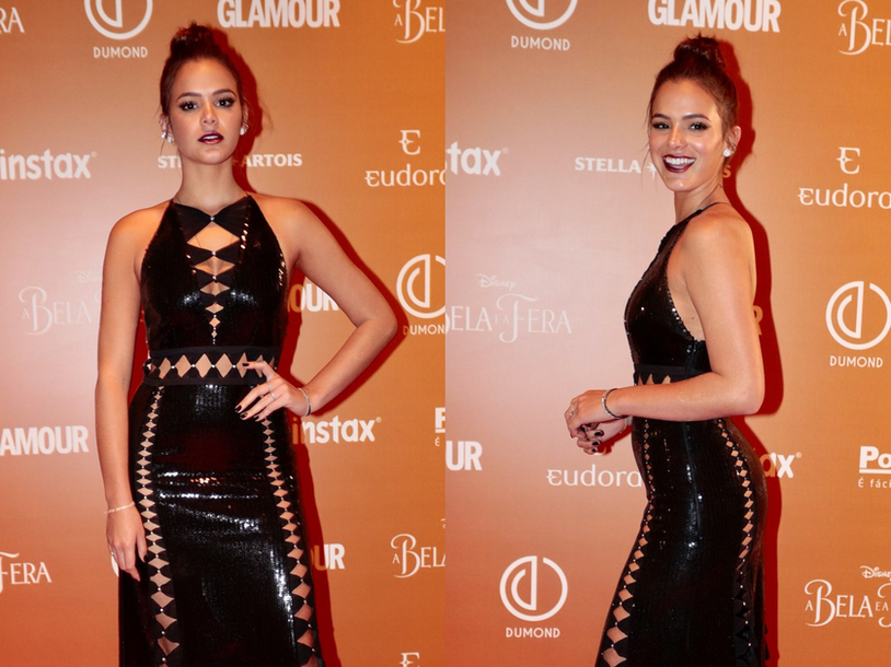 Maquiagem inspirada em Bruna Marquezine do Prêmio Geração Glamour