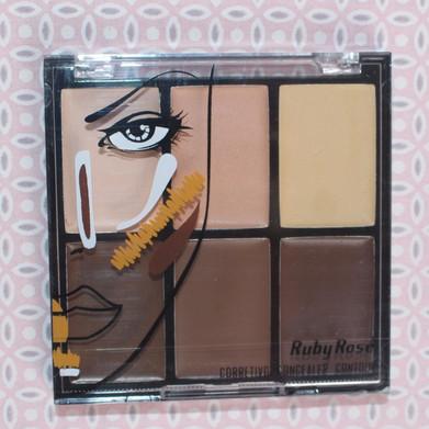 Paleta de Corretivos Ruby Rose