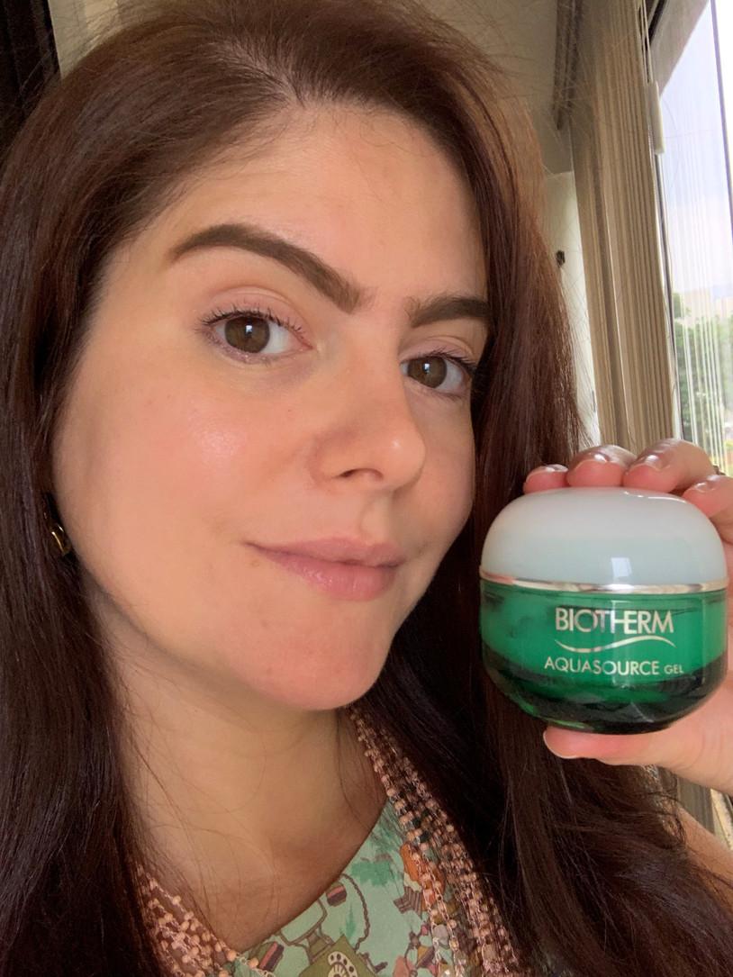 Aquasource Regenerating Gel Moisturizer BIOTHERM para peles normais a mistas