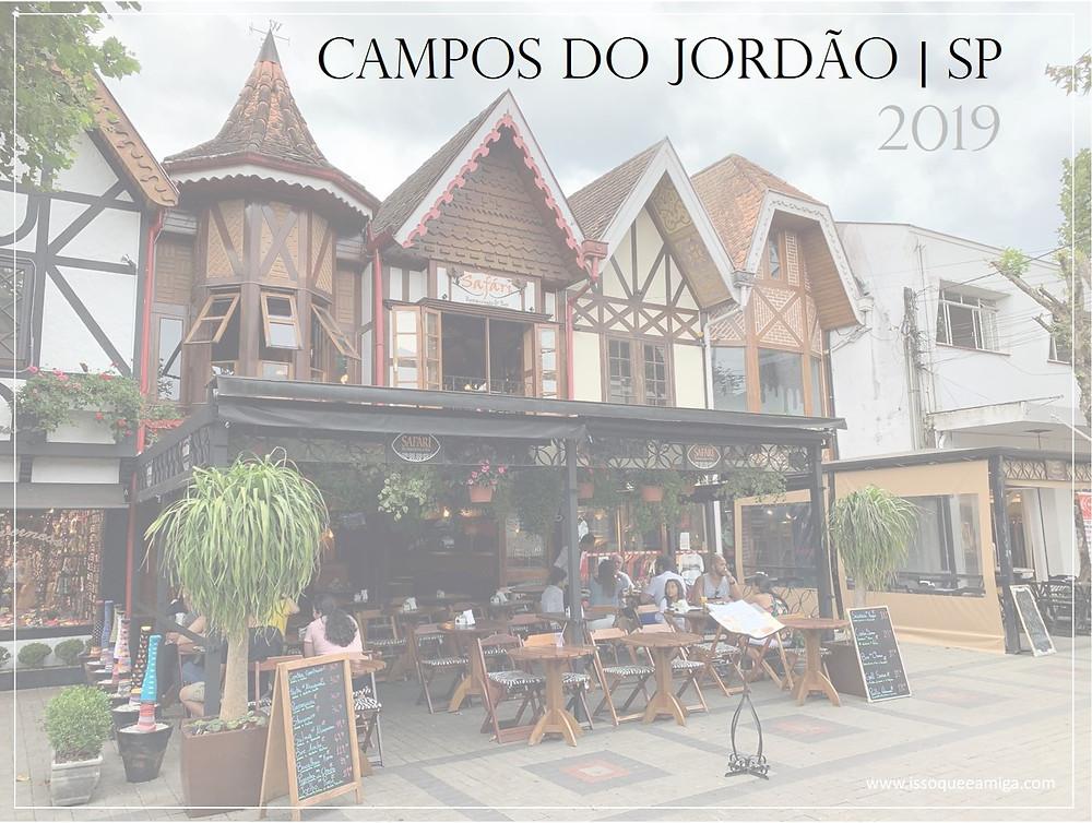 Campos do Jordão-SP | Roteiro de viagem