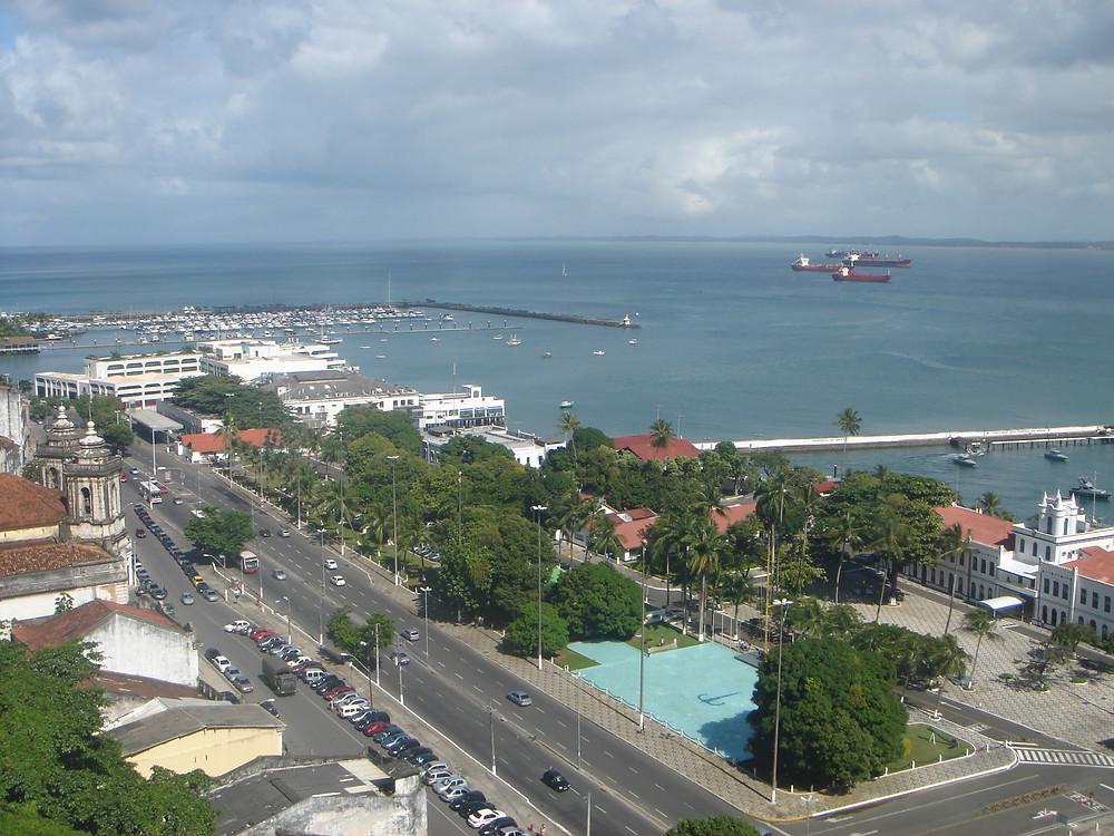 Cidade Baixa Salvador Bahia Brasil