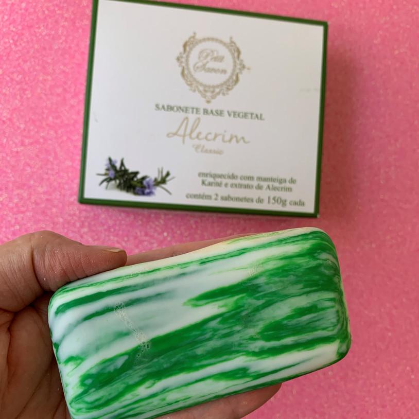 Petit Savon sabonetes base vegetal | Alecrim