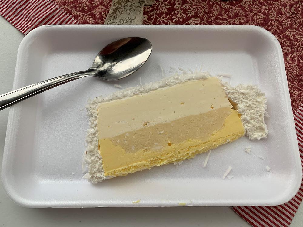 Torta de sorvete - Campos do Jordão-SP