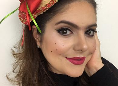Maquiagem inspiração   Festa junina 2018
