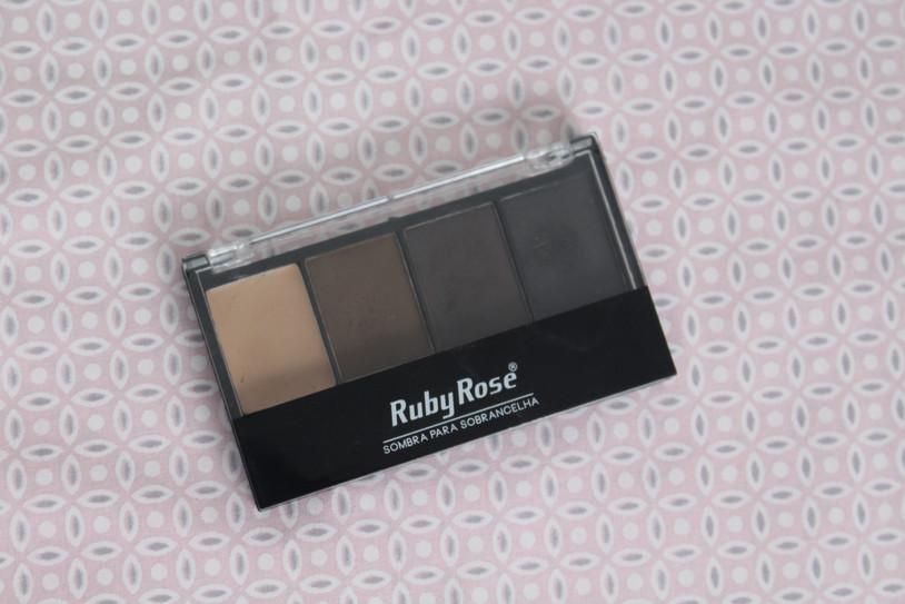 RUBY ROSE   Paleta de Sombras para Sobrancelha
