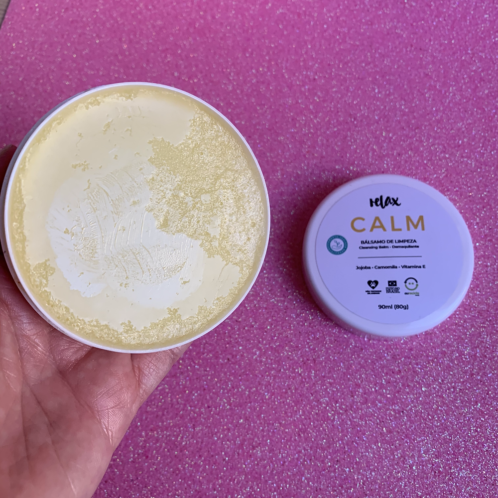 LIMPADOR FACIAL CLEANSING BALM CALM