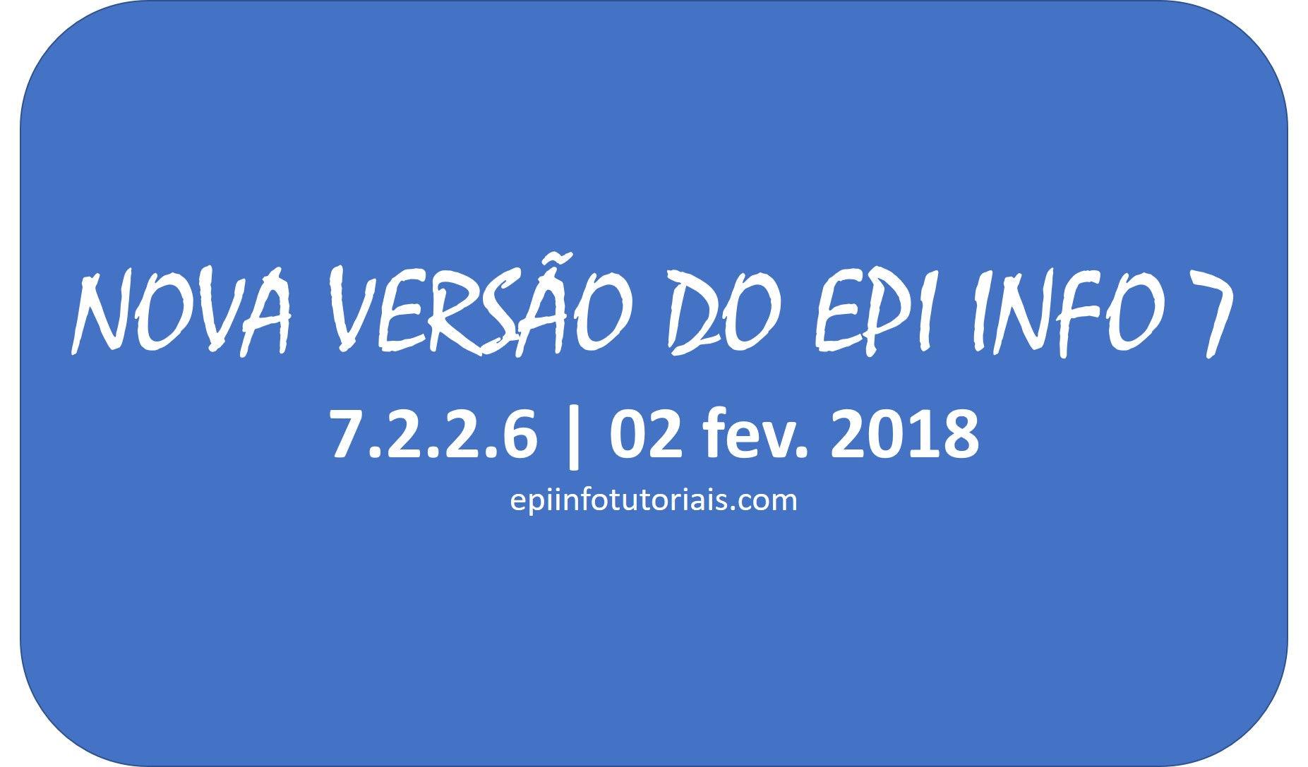 epi info 7.2.2.6