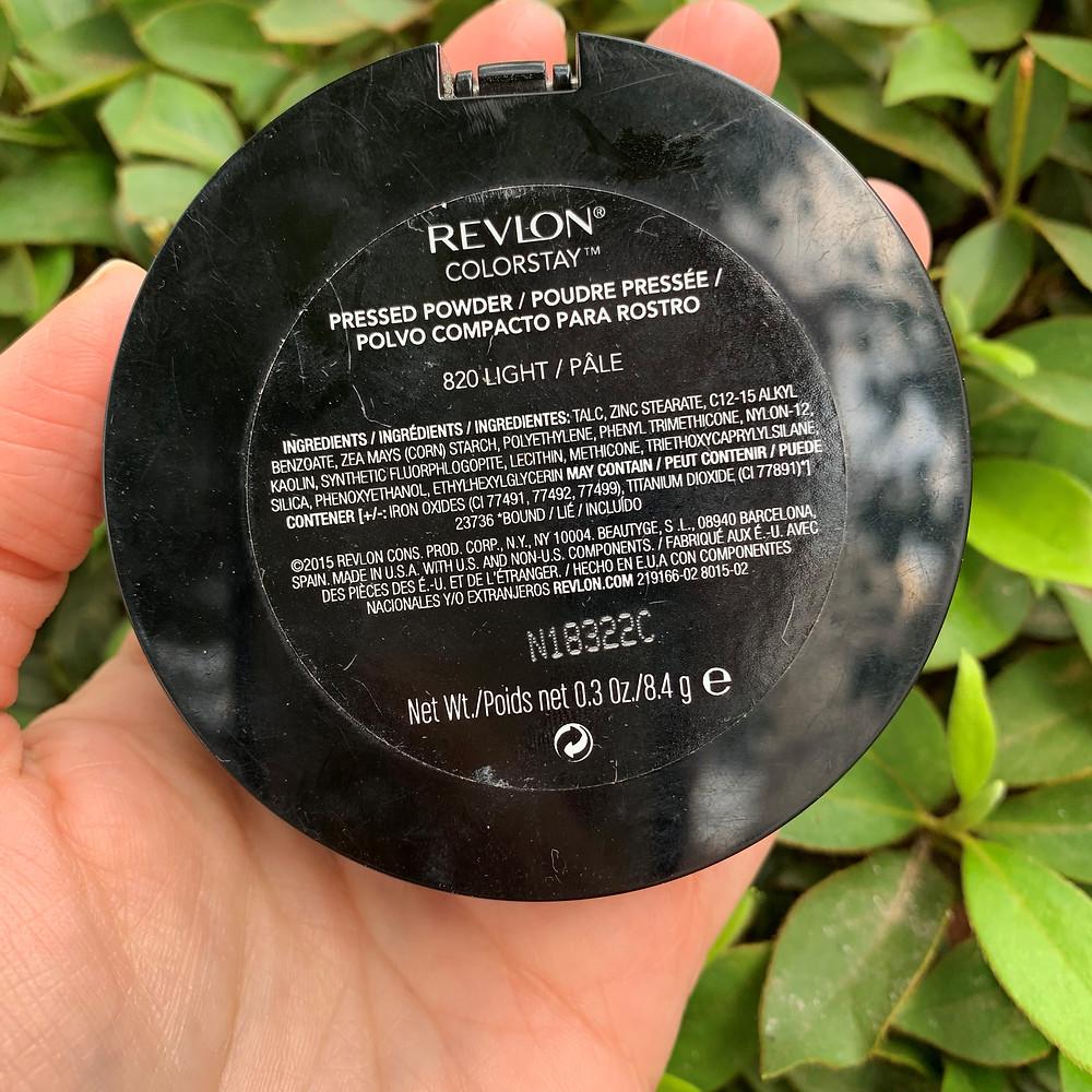 Pó compacto Colorstay Revlon 820 light