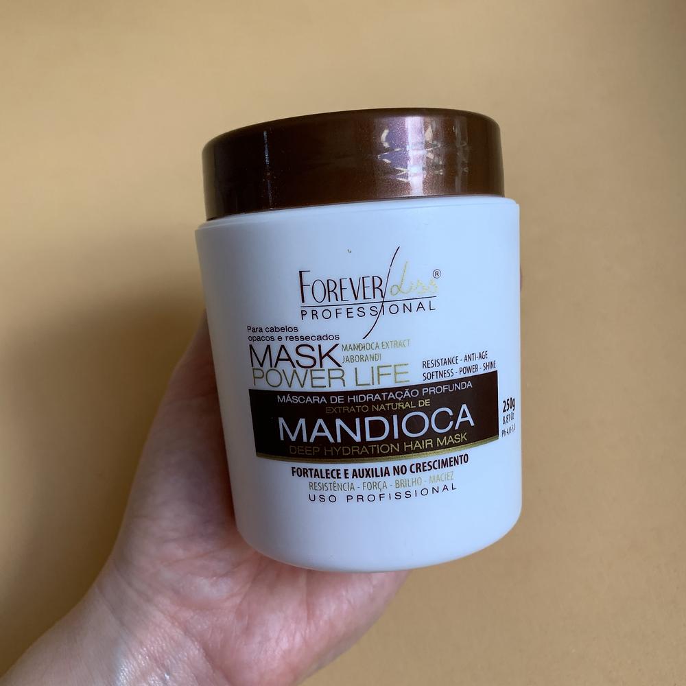 Máscara de tratamento capilar de Mandioca Forever Liss Professional