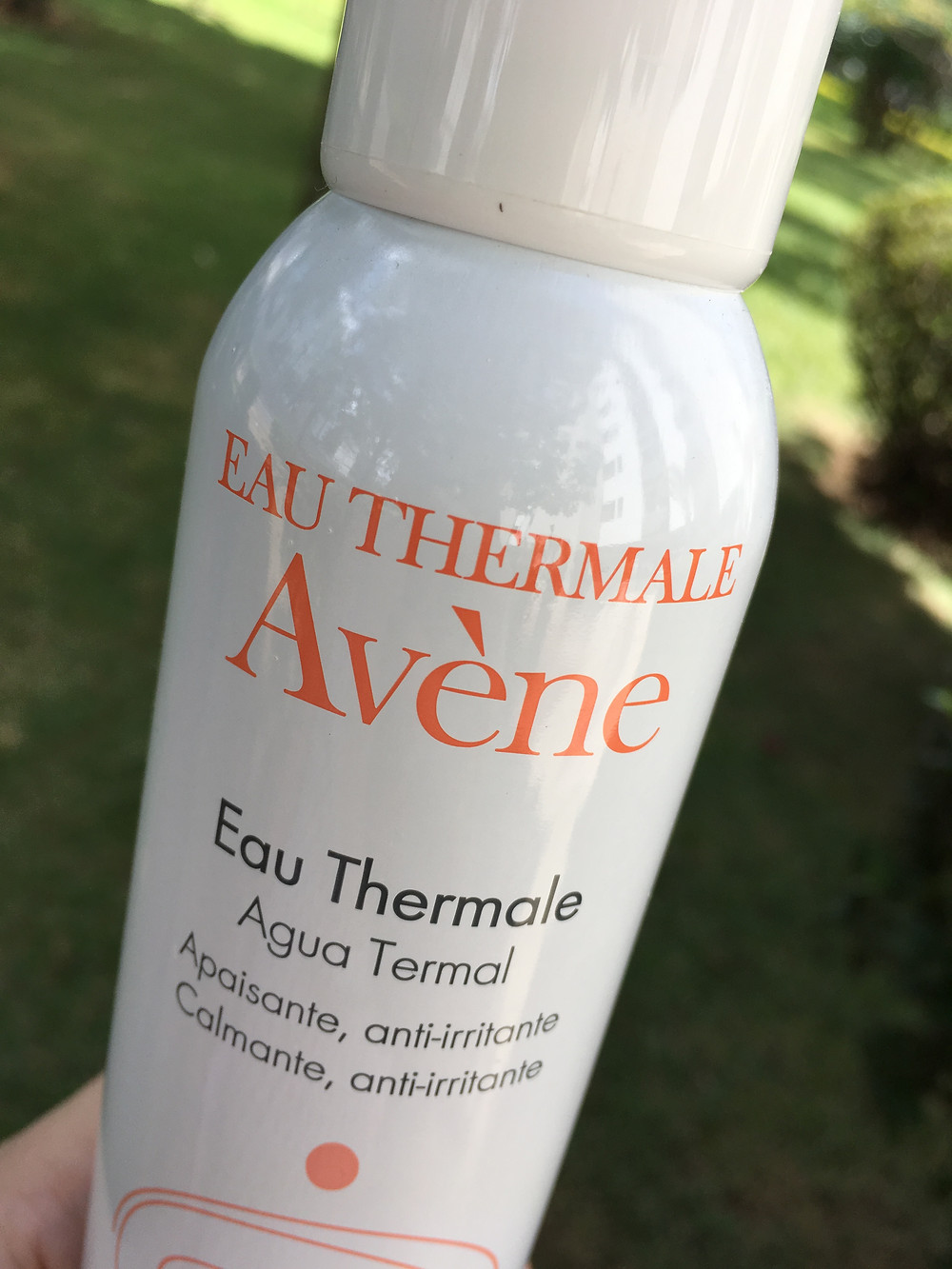 Eau Thermale Avène para peles sensíveis e irritadas