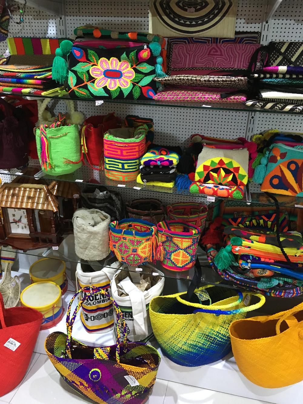 Bolsas colombianas Ciudad Amurallada Cartagena