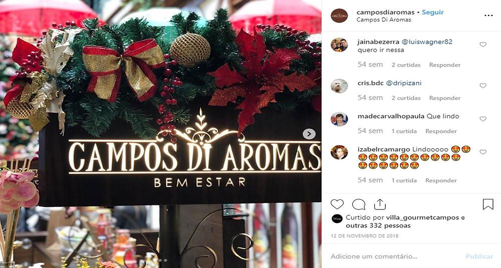 Hidratante corporal Cereja e Avelã | Campos di Aromas