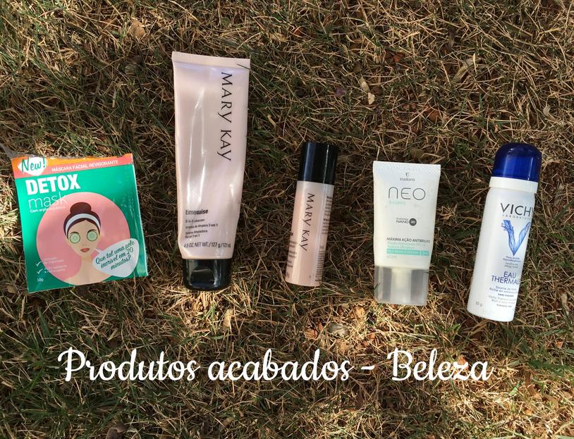 Produtos de beleza | Acabados