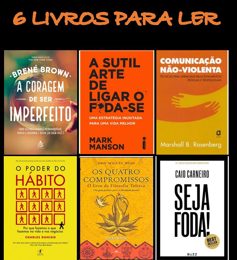 6 livros em PDF para ler no isolamento social