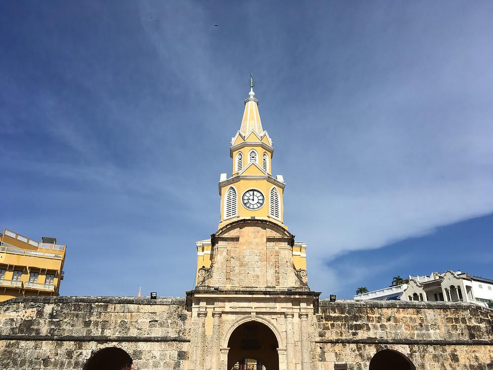 Torre do Relógio - Ciudad Amurallada Cartagena Colombia 2018