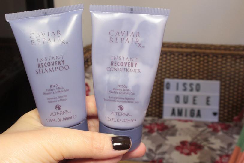 Xampu e Condicionador | Tratamento com Caviar Alterna | Acabou