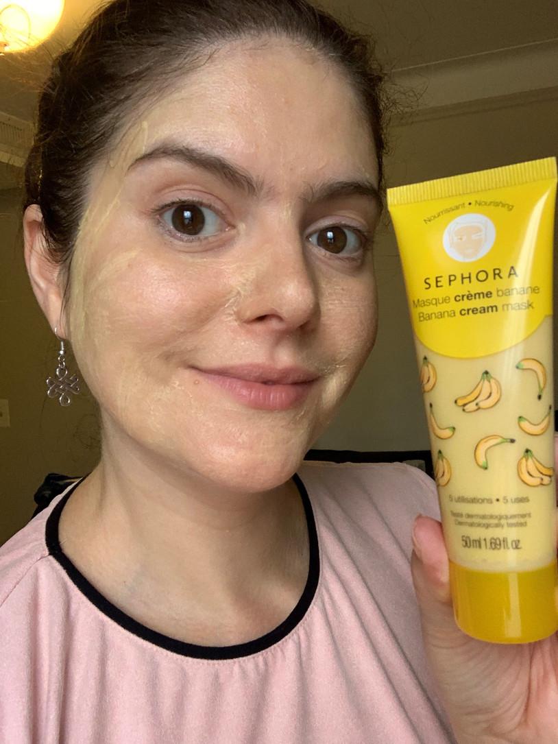 Banana Cream Mask Nourshing | Sephora