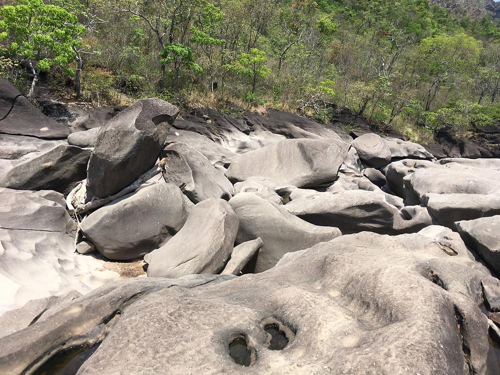 Vale da Lua Chapada dos Veadeiros - Goiás