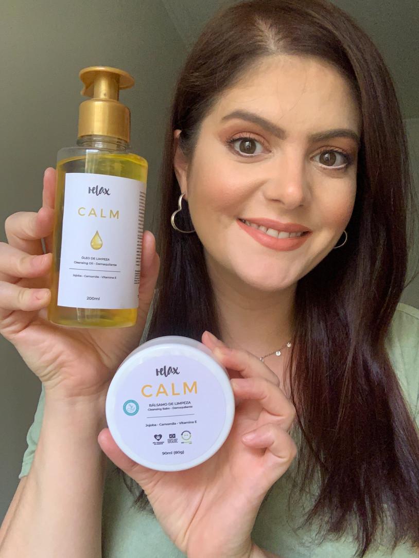 Novidades em limpeza facial Relax Cosméticos: cleansing oil e cleansing balm