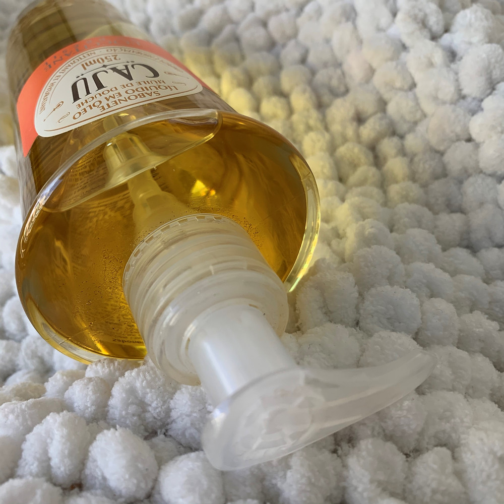 Sabonete líquido em óleo Caju L'Occitane au Brésil