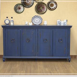 Blue Capri Cabinet