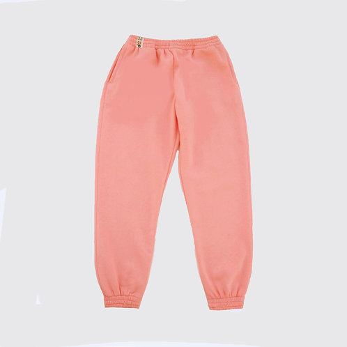 Peach Pink Joggers