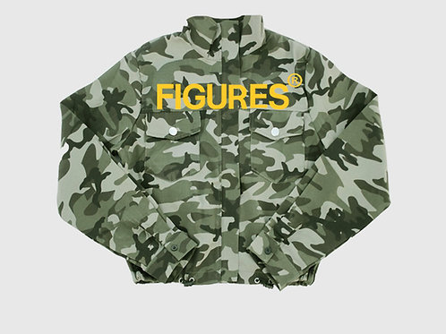 FIGURES camoflauge jacket