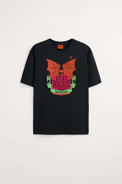 Lost Angels- Men's Black T-shirt