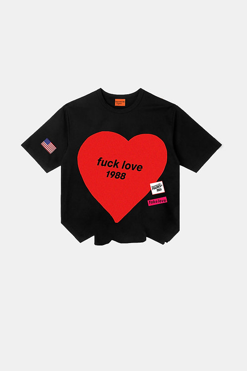 Fuck Love 1988- Black T-shirt