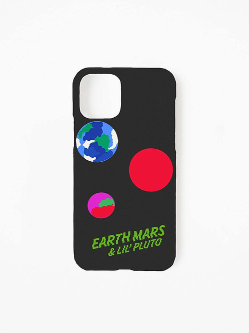 Earth Mars&Lil Pluto/ IPHONE CASE