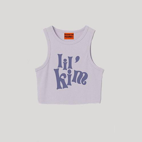 Lil Kim/Lilac cropped top