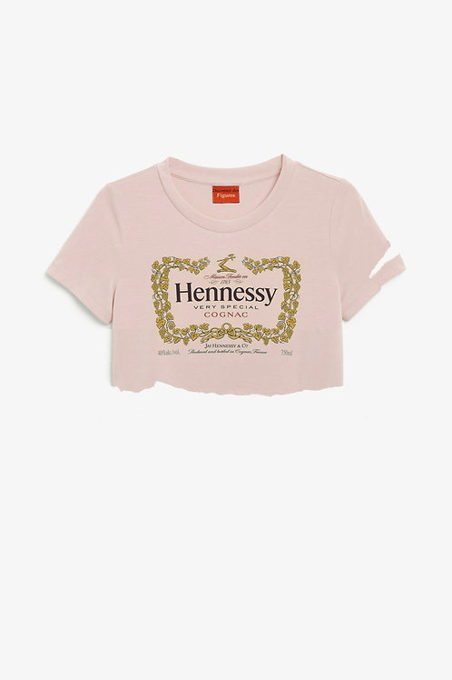 Hennessy cropped T-shirt