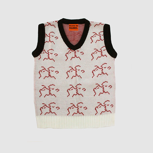 Les Amants/Chunky wool vest