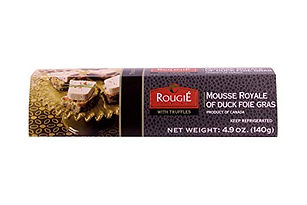 Mousse Royal of Duck Foie Gras with Truffles