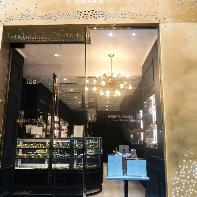 Marky's Caviar Store Front