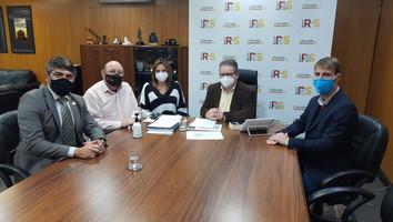Presidente do CROO-RS realiza série de reuniões com Presidente da ALRS e Vice-Governador