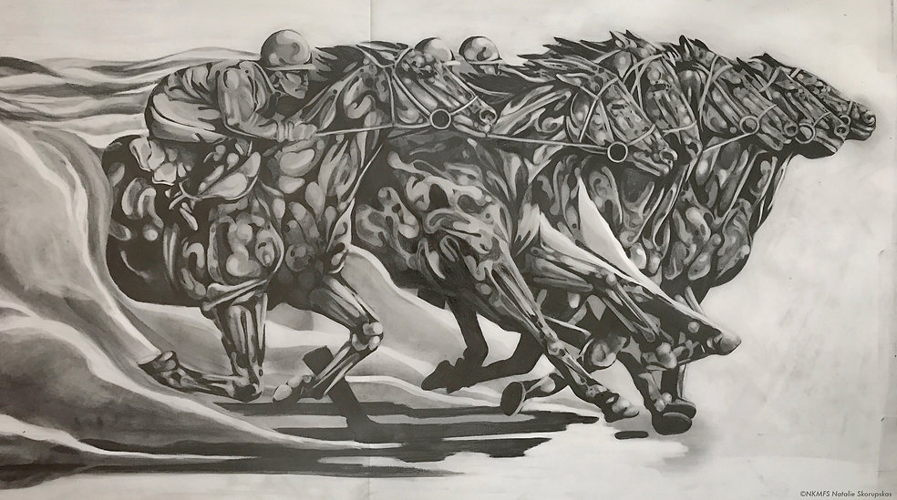 horserace drawing process nskorupskas.jp