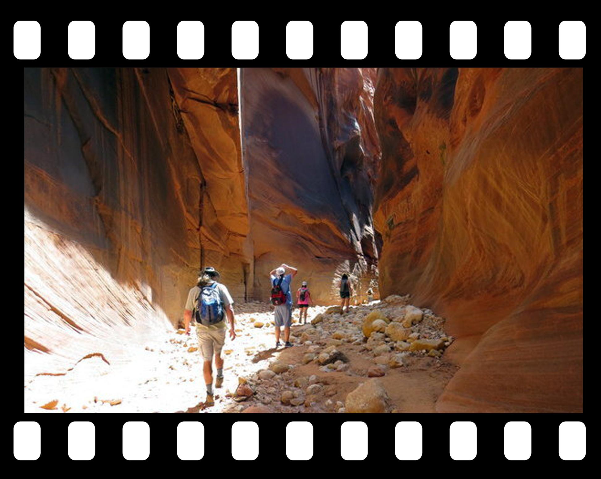 slot canyon tours