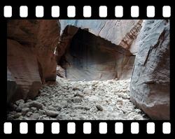 slot canyon cave